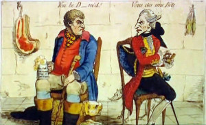 James Gillray French_Hostility