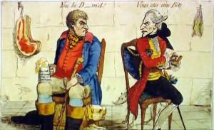 James Gillray French_Hostility