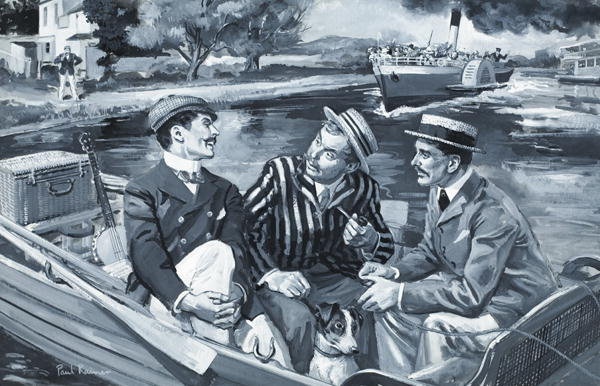 character sketch of jerome harris george in the book three men in a boat Three men in a boat character sketches by agraj garg class : there no character as jim in the book he goes with george and jim on a boating holiday.