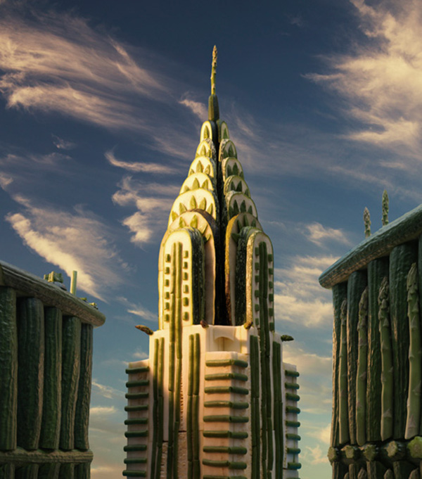 Chrysler Building  600х 681