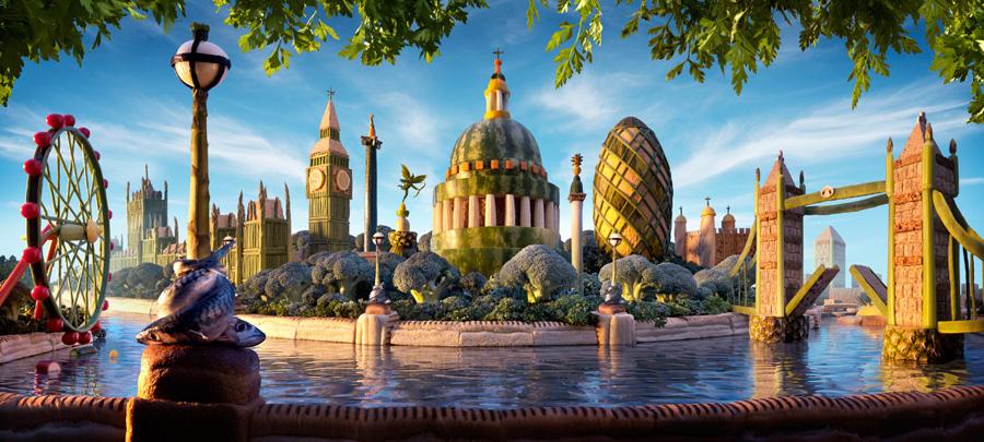 London Skyline 900 х 405