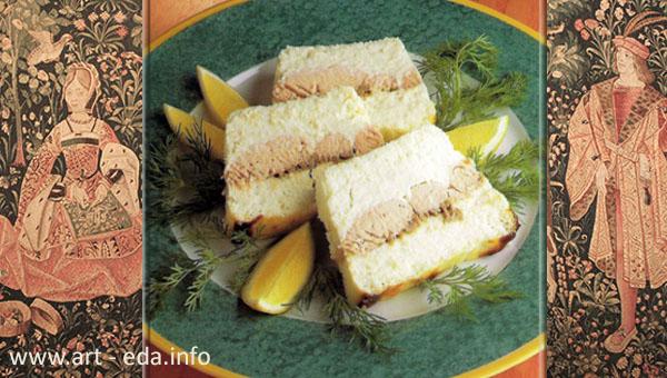 terrine de broch et saumon