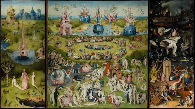 Giardino delle Delizie Terrene - Hieronymus Bosch