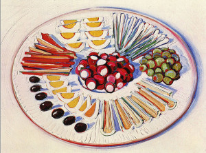 Plate of Hors d'oeuvres 800 х 593