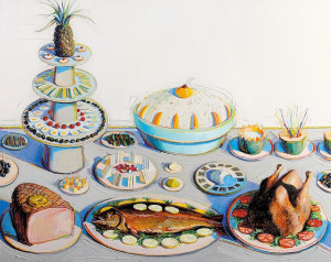Wayne Thiebaud Buffet, 800 х 636