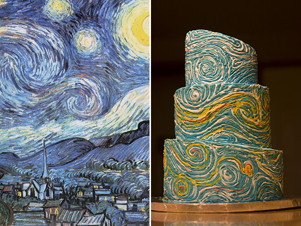 vincent van gogh starry night 600 х 450