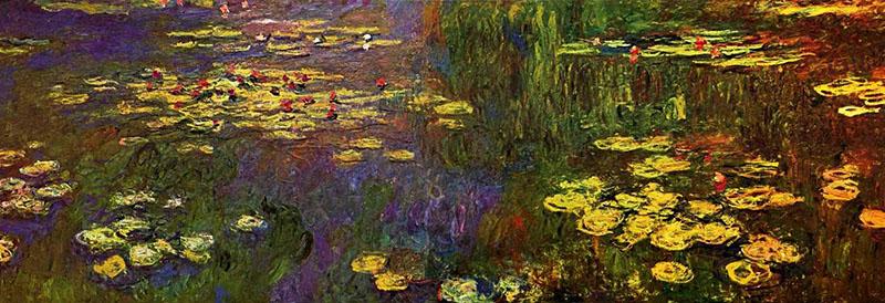 Claude Monet 800 х 274