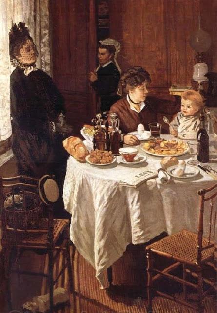 Claude Monet Ланч 445 х 640