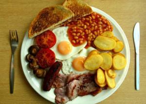 Full english Breakfast  600 х 428