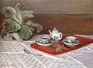 Monet Claude TheTea Set 600 х 443