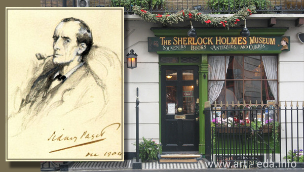 Sherlock Holmes museum 600 х 340