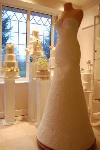Торт Свадебное платье 634 х 950