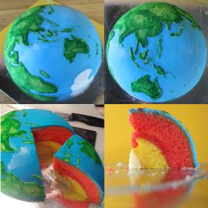 earth planet cake 800 х 800
