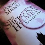 ЗНАМЕНИТЫЕ РЕСТОРАНЫ ЛИТЕРАТУРНЫХ ГЕРОЕВ: ШЕРЛОК  ХОЛМС