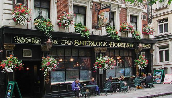 паб-ресторан Шерлок Холмс 600 х 340