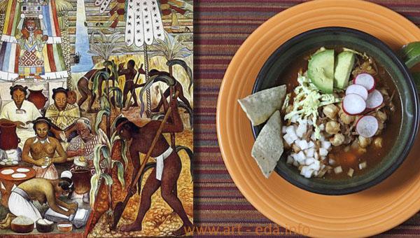 посоле и ацтеки posole and huastec 600 х 340