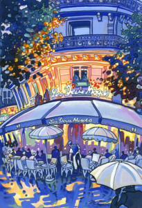 John Coatsworth Cafe Deux Magots 500х730