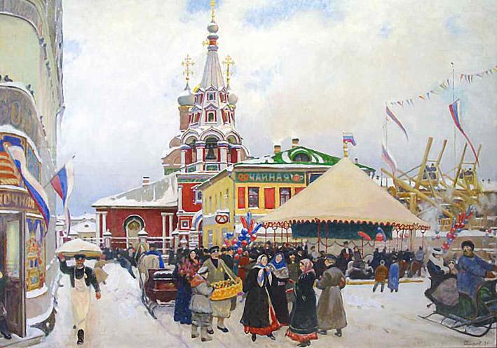 Смирнов Сергей зимние гулянья 709 х 495