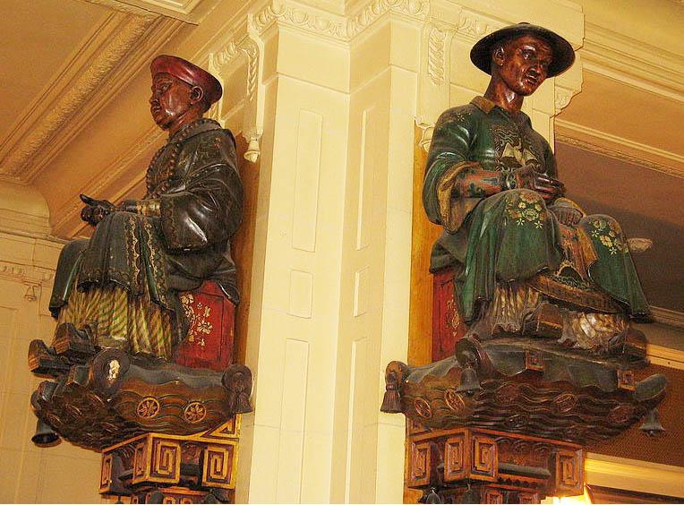 Statues Les Deux Magots  764 х 564