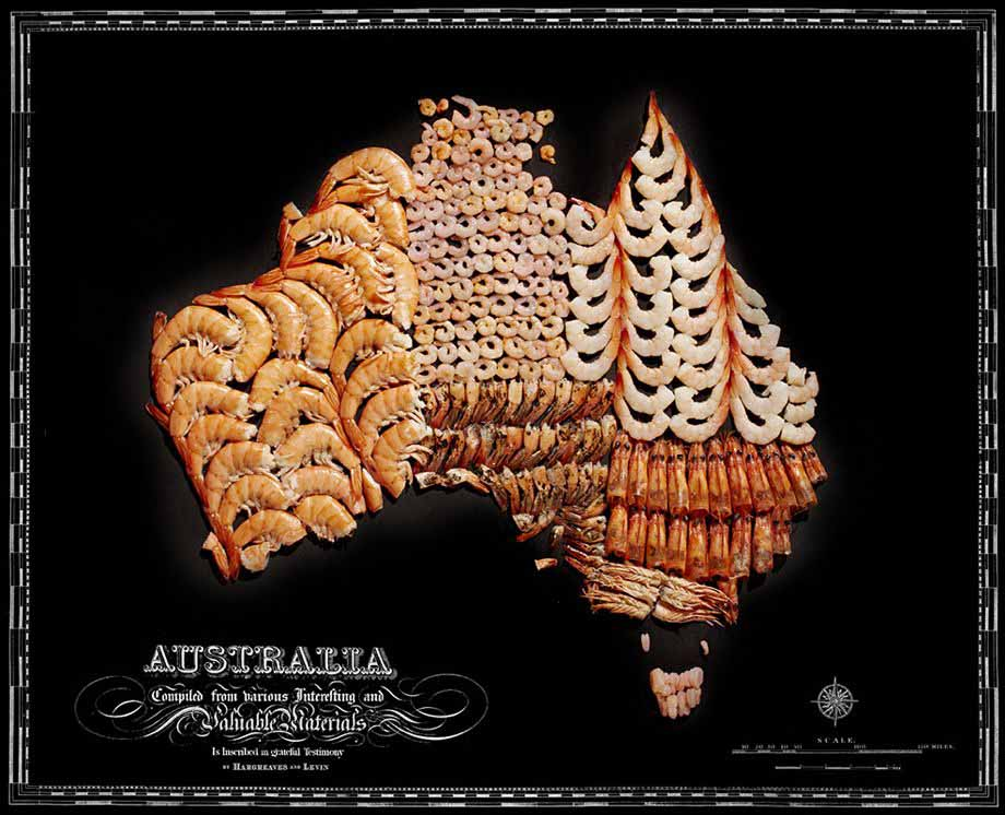 Аппетитные карты  Австралия  920 х 746