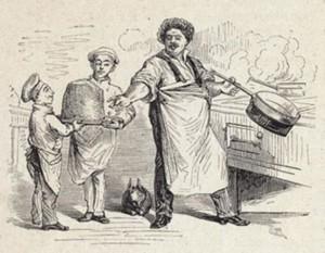 alexandre dumas, auteur van een kookboek