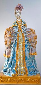 сахарная скульптура и торт Мария-Антуанетта 450 х 923
