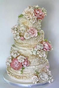 свадебный торт Мария-Антуанетта 600 х 900
