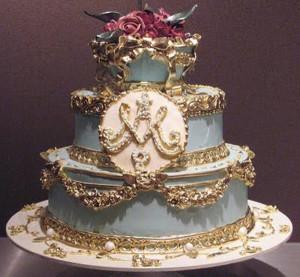 свадебный торт рококо 600 х 555