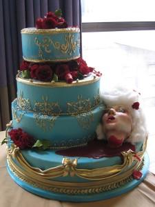 торт Казнь Марии-Антуанетты 750 х 1000
