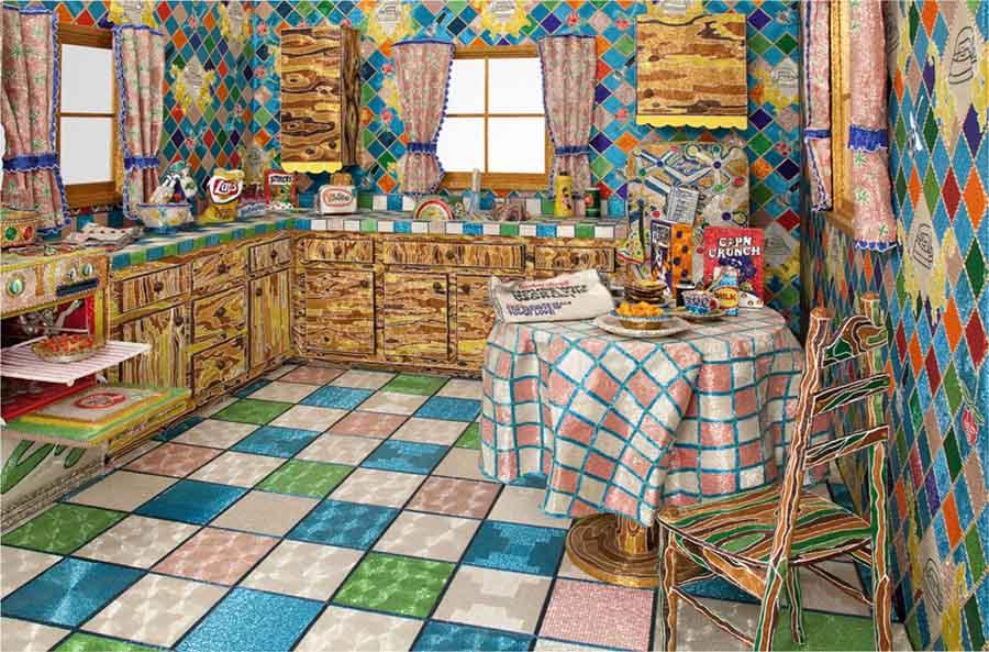 кухня из бисера 900 х 593