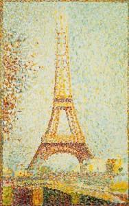 Эйфелева башня, Жорж Сёра 590 х 940