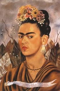 Автопортрет Фриды Кало 600 х 906