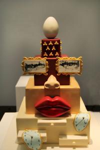 торт в стиле Дали 600 х 900