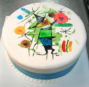 торт в стиле Миро 600 х 589