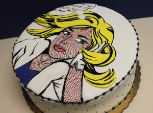 торт в стиле Роя Лихтенштейна 800 х 591