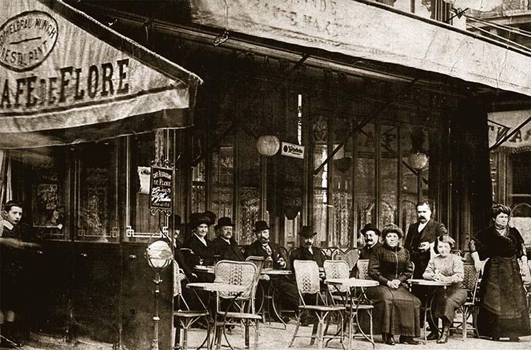 Сafe de Flore, Paris 750 х 495