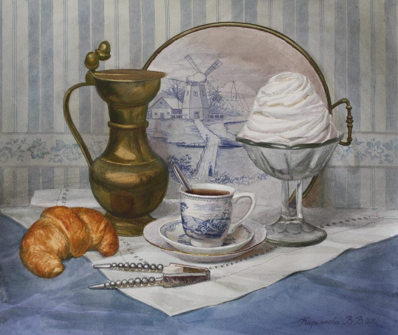 Виктория Кирьянова Le petit déjeuner (завтрак) 2011 800 х 674