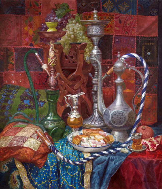 Виктория Кирьянова Восточный десерт, 2009 686 х 800