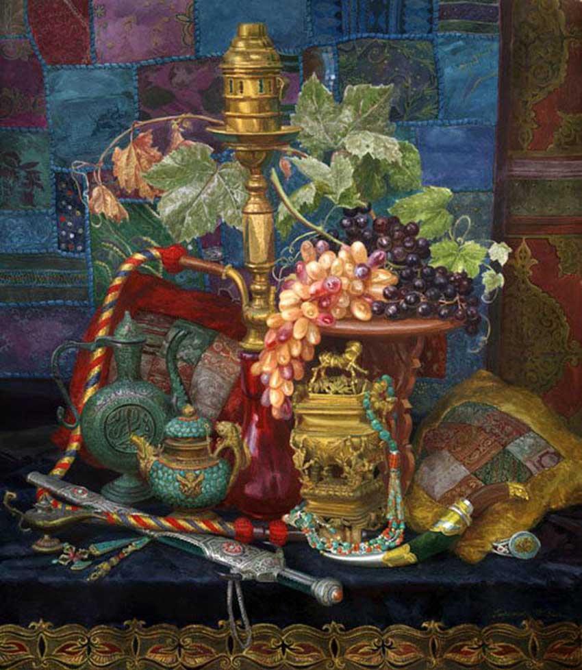 Виктория Кирьянова Восточный натюрморт,2008 850 х 978