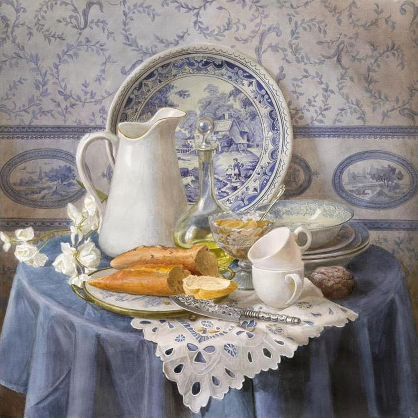 Виктория Кирьянова За столом импрессиониста, 2010 840 х 840