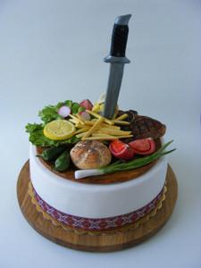 гиперреалистичный торт Любы Златковой  500 х 666