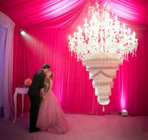 свадьба Кейли Куоко и  Райана Свитинга  656 х 967