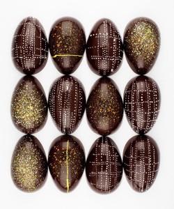 пасхальные шоколадные яйца 650 х 777