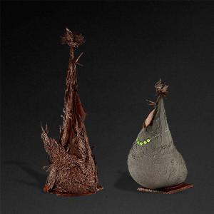 петух и курица из шоколада (авторская работа Патрика Роджера) 600 х 600