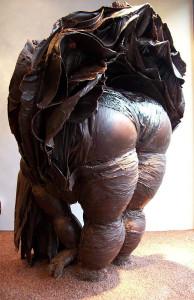 шоколадная скульптура 519 х 800