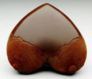 шоколадное сердце 500 х 428