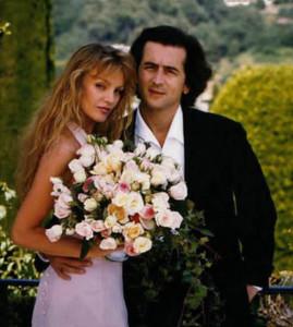 свадьба Ариэль Домбаль и BHL 500 х 557