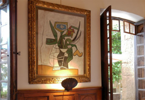 картина Пикассо 700 х 484