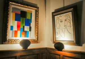 работы Сони Делоне (слева) и Анри Матисса (справа) 610 х 425
