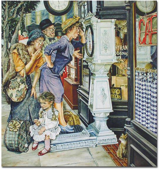Весы картина Susan Brabeau 540 х 576
